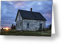 New Day Old House Greeting Card by John Greim
