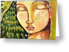New Life Greeting Card by Shiloh Sophia McCloud