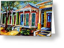New Orleans Plain And Fancy Greeting Card by Diane Millsap