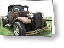New Wheels Greeting Card by Eric Dee