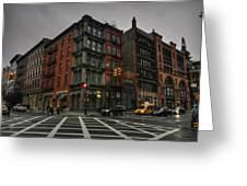 New York City - Soho 006 Greeting Card by Lance Vaughn