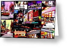 New York New York  Greeting Card by Funkpix Photo Hunter