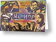 NEW YORK NEW YORK Greeting Card by TONY B CONSCIOUS