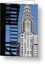New York Watercolor 3 Greeting Card by Andrew Fare