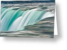 Niagara Falls Number 2 Greeting Card by Steve Gadomski
