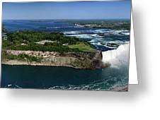 Niagara Falls Greeting Card by Oleksiy Maksymenko