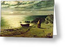 Night most glorious night thou wert not made for slumber Greeting Card by John MacWhirter