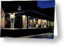 Nighttime On Southampton Street Greeting Card by Deb Putnam
