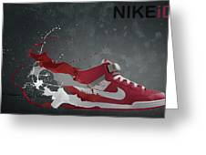 Nike Id Greeting Card by Tom  Layland
