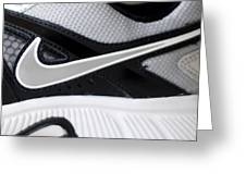 Nike Shoe Greeting Card by Malania Hammer