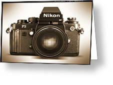 Nikon F3 Hp Greeting Card by Mike McGlothlen