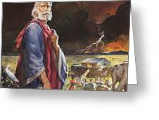 Noah's Ark Greeting Card by James Edwin McConnell