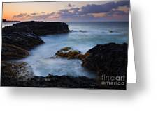 North Shore Tides Greeting Card by Mike  Dawson