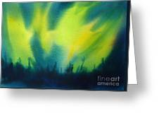 Northern Lights I Greeting Card by Kathy Braud