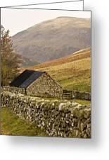 Northumberland, England Stone House Greeting Card by John Short
