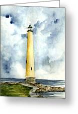 Northwood Lighthouse Greeting Card by Michael Vigliotti