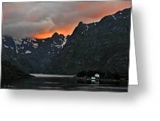 Norwegian Coast No. 2 Greeting Card by Joe Bonita