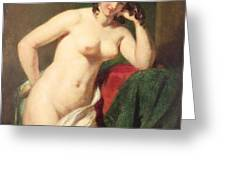Nude Greeting Card by William Etty