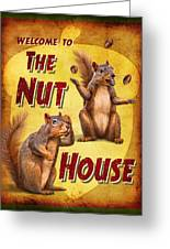 Nuthouse Greeting Card by JQ Licensing