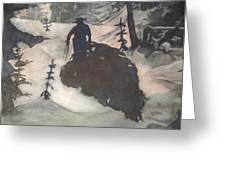 O Tannenbaum Greeting Card by Elizabeth Carr