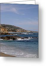Ocean View Greeting Card by Timothy OLeary