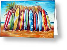 Off-shore Greeting Card by Deb Broughton