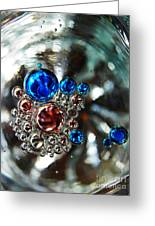 Oil And Water 16 Greeting Card by Sarah Loft