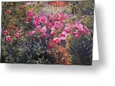 Olbrich Garden Series -  Garden 1    Greeting Card by Lisa Konkol