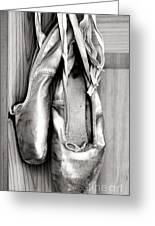 Old Ballet Shoes Greeting Card by Jane Rix
