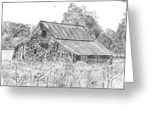 Old Barn 4 Greeting Card by Barry Jones