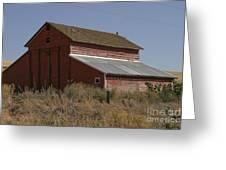 Old Barn Greeting Card by Robert  Torkomian