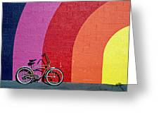 Old Bike Greeting Card by Garry Gay
