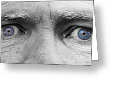 Old Blue Eyes Greeting Card by James BO  Insogna