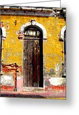 Old Door 2 By Darian Day Greeting Card by Olden Mexico