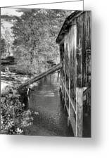 Old Grist Mill Greeting Card by Joann Vitali