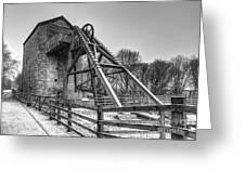 Old Mine Greeting Card by Adrian Evans