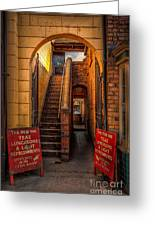 Old Signs Greeting Card by Adrian Evans