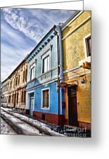 Old Streets Greeting Card by Gabriela Insuratelu