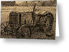 Old Timer Greeting Card by Terry Perham