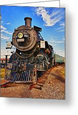 Old Train Greeting Card by Garry Gay