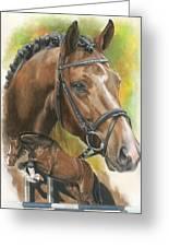 Oldenberg Greeting Card by Barbara Keith