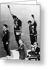 Olympic Games, 1968 Greeting Card by Granger