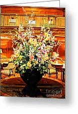 Olympic Grandeur Greeting Card by David Lloyd Glover
