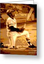 On Deck Greeting Card by Spencer McKain