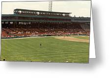 Once Upon A Fenway Greeting Card by David Bearden
