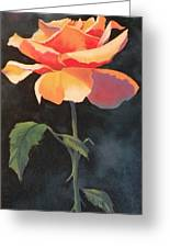 One And Only Greeting Card by Susan A Becker
