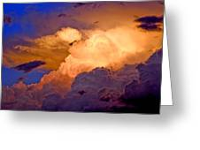One Cloudy Afternoon Greeting Card by James Steele