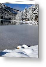 One Cool Morning Greeting Card by Chris Brannen