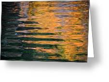 Orange Sherbert Greeting Card by Donna Blackhall