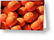Oranges Greeting Card by David Dunham